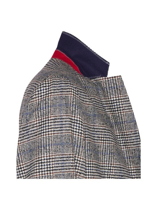 Tommy Hilfiger Tailored - Check Slim Fit -bleiseri - 0QY ECRU/BLACK/TAWNY/PEARLY BLUE | Stockmann - photo 3