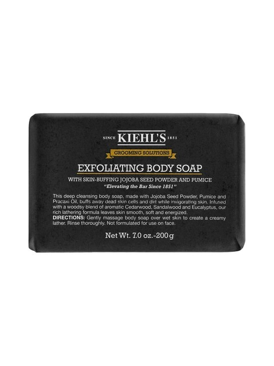 Kiehl's - Grooming Solutions Exfoliating Body Soap -saippua 200 g - null | Stockmann - photo 1