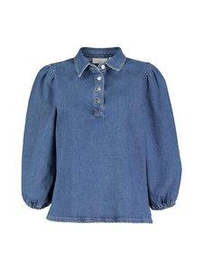Minimum - Cils Blouse -pusero - 688 INDIGO BLUE | Stockmann