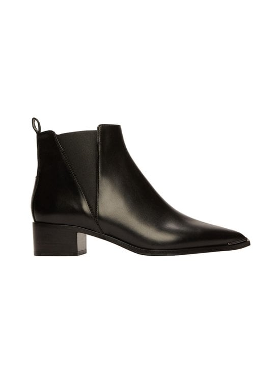 Acne Studios - Jensen-nahkanilkkurit - BLACK | Stockmann - photo 1