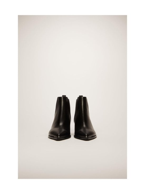 Acne Studios - Jensen-nahkanilkkurit - BLACK | Stockmann - photo 3