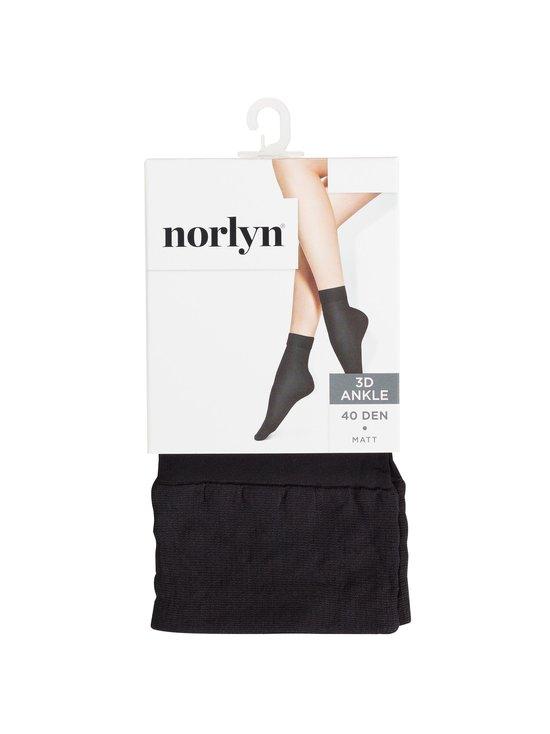 Norlyn - 40 den 3D -nilkkasukat - BLACK | Stockmann - photo 1