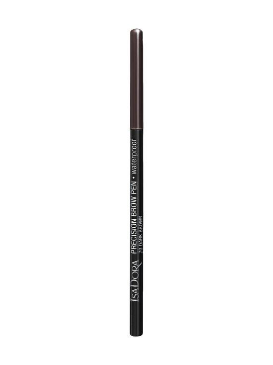 Isadora - Precision Brow Pen Waterproof -kulmakynä - 70 DARK BROWN | Stockmann - photo 1