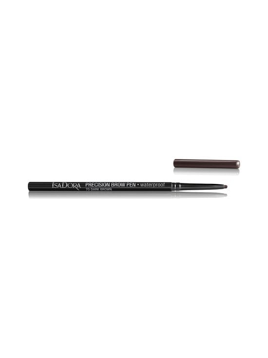 Isadora - Precision Brow Pen Waterproof -kulmakynä - 70 DARK BROWN | Stockmann - photo 2