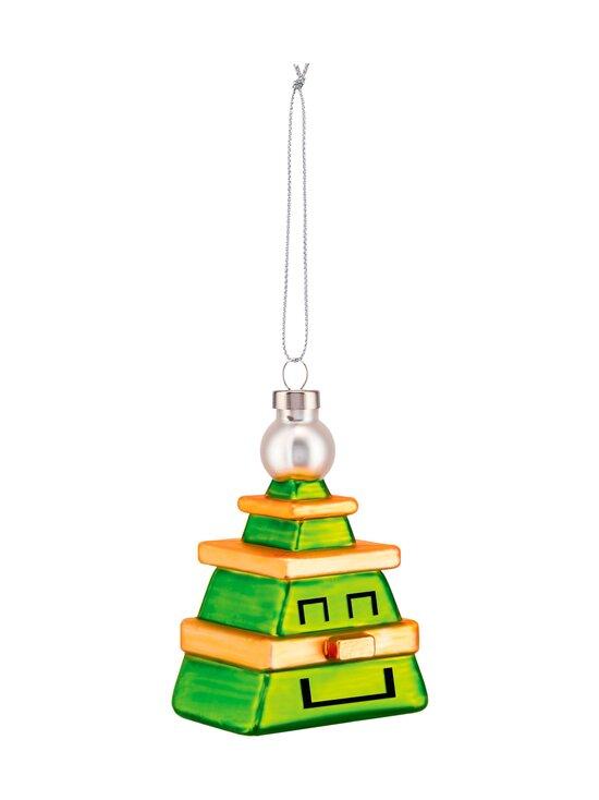 Alessi - Cubik Tree -joulukoriste - GREEN, GOLD | Stockmann - photo 2