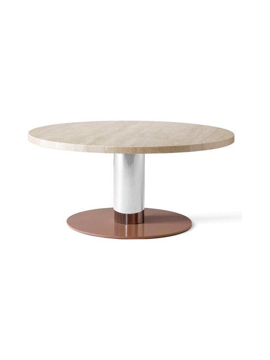 &tradition - Mezcla JH20 -pöytä 80 x 40 cm - TRAVERTINE / CROME / CLAY   Stockmann - photo 1