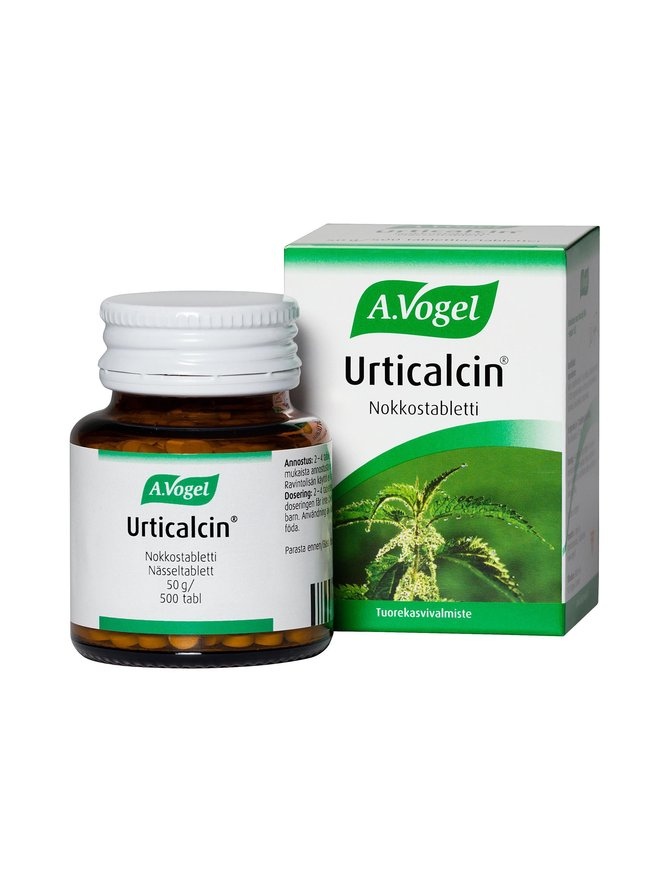 Urticalcin-nokkostabletti 500 tabl./50 g
