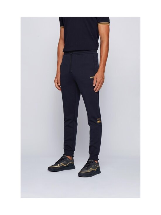 BOSS - Halvo Jersey Trousers -housut - 402 DARK BLUE | Stockmann - photo 2