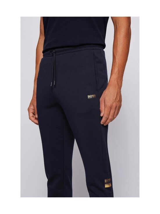 BOSS - Halvo Jersey Trousers -housut - 402 DARK BLUE | Stockmann - photo 4