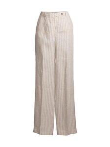 Ril's - Amalfo-pellavahousut - 021 WHITE/BLACK   Stockmann
