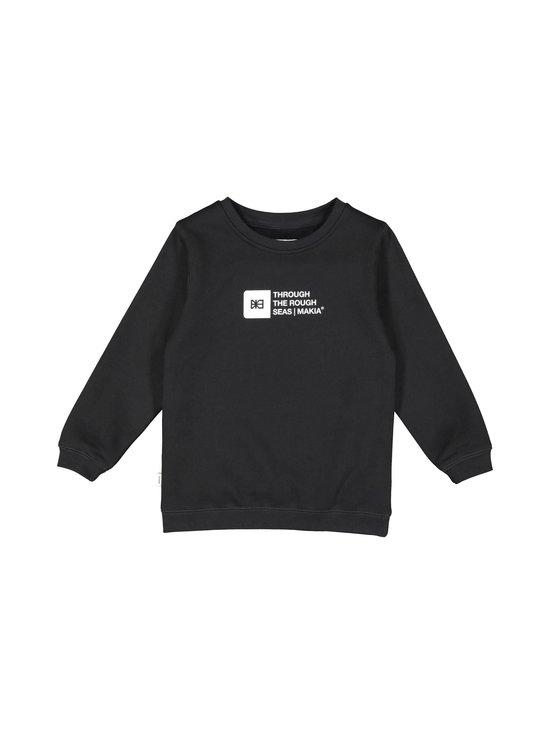 Makia - Flint Sweatshirt -collegepaita - BLACK | Stockmann - photo 1