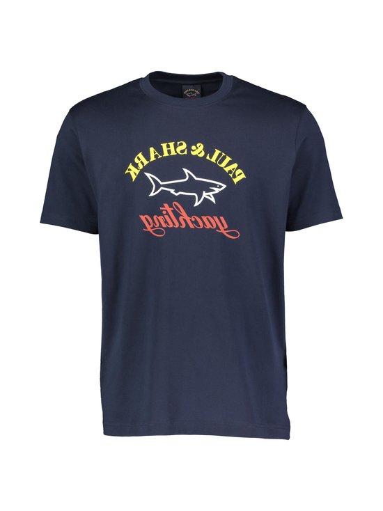 Paul & Shark - Logo Tee Reverse -paita - _013 BLUE | Stockmann - photo 1