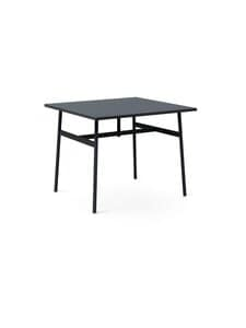 Normann Copenhagen - Union-pöytä 90 x 90 cm - BLACK | Stockmann