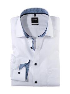 Olymp - Modern Fit -kauluspaita - 00 WHITE W/BLUE | Stockmann