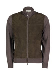 Canali - Villaneuletakki - 501 BROWN | Stockmann