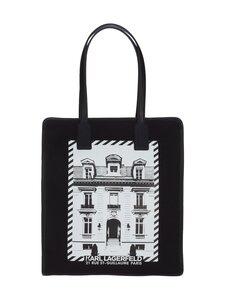 Karl Lagerfeld - K/Maison Canvas Tote -laukku - A999 BLACK | Stockmann