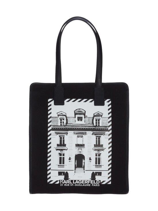 Karl Lagerfeld - K/Maison Canvas Tote -laukku - A999 BLACK   Stockmann - photo 1