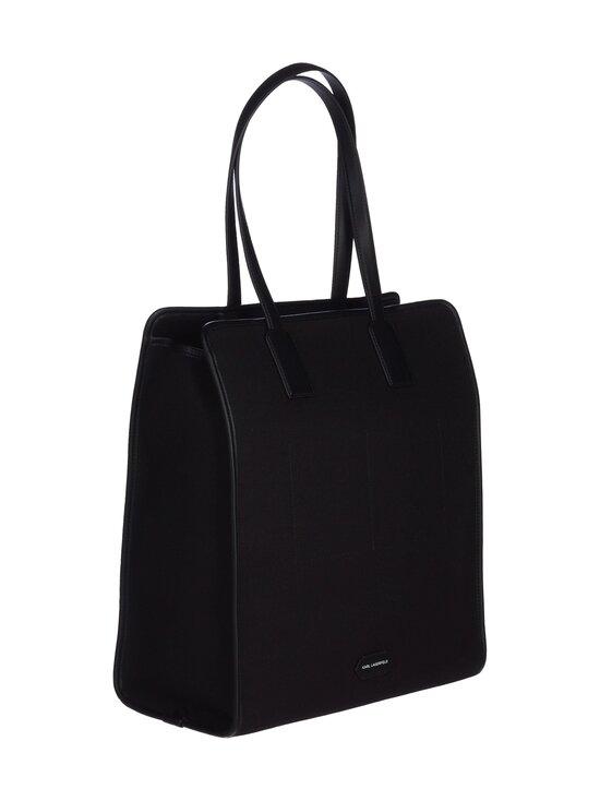 Karl Lagerfeld - K/Maison Canvas Tote -laukku - A999 BLACK   Stockmann - photo 2