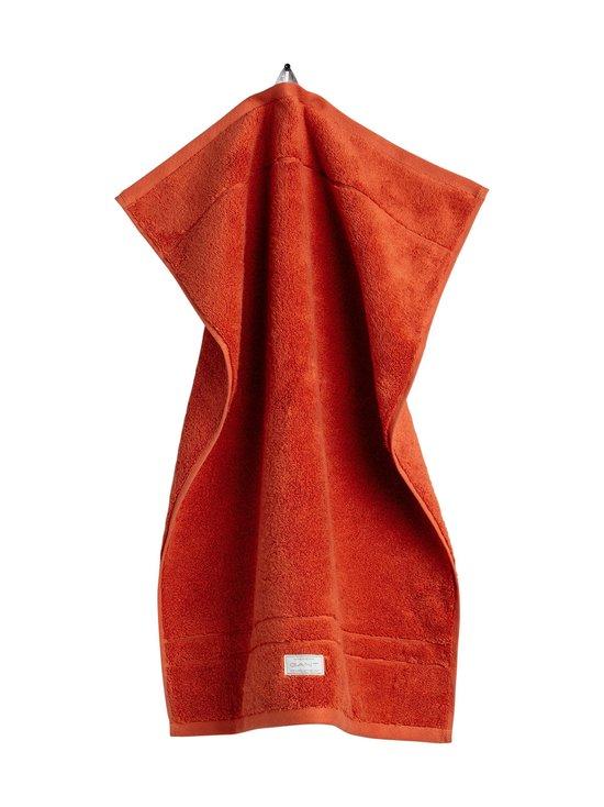 Gant Home - Organic Premium -pyyhe 30 x 50 cm - 220 BURNT OCHRE | Stockmann - photo 1