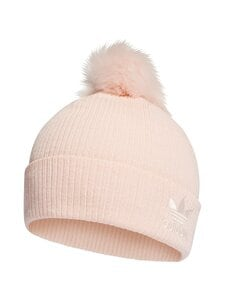 adidas Originals - Faux Fur Pompom Beanie-pipo - PINK TINT/WHITE   Stockmann