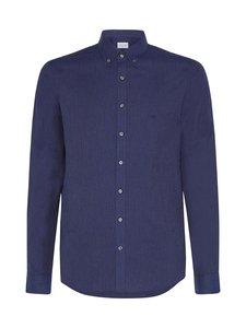 Calvin Klein Menswear - Soft Touch Slim Fit -kauluspaita - 0G2 NAVY   Stockmann