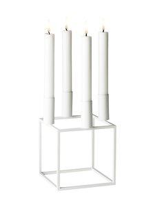 By Lassen - Kubus 4 -kynttilänjalka - WHITE (VALKOINEN) | Stockmann