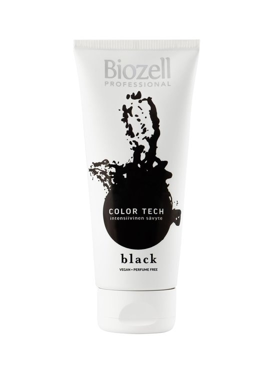 Biozell - Color Tech Intensive Hair Mask -sävyte 200 ml - BLACK | Stockmann - photo 1