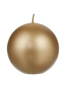 Balmuir - Velvet-pallokynttilä 10 cm - 650 GOLD | Stockmann