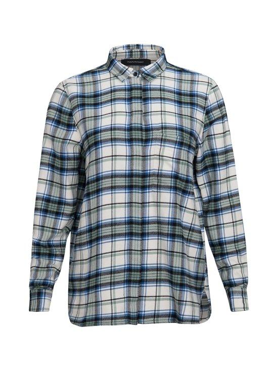 Peak Performance - W Super Flannel Shirt -paita - 951 W.PRINT.GROUN | Stockmann - photo 1