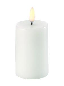 UYUNI - Pillar LED -pöytäkynttilä 5 x 8 cm - NORDIC WHITE | Stockmann
