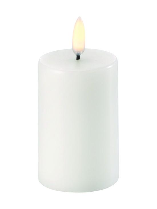 UYUNI - Pillar LED -pöytäkynttilä 5 x 8 cm - NORDIC WHITE   Stockmann - photo 1