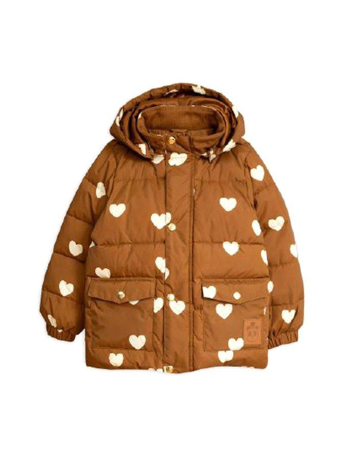 Hearts Pico Puffer -takki