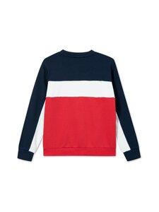 Fila - Pepe Blocked Crew -collegepaita - R69 TRUE RED-BLACK IRIS-BRIGHT WHITE   Stockmann