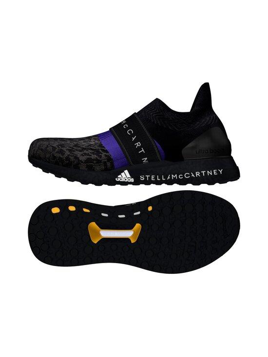 adidas by Stella McCartney - UltraBOOST X 3D Knit -juoksukengät - CORE BLACK/COLLEGIATE PURPLE/PEACH NOUGAT-SMC | Stockmann - photo 9
