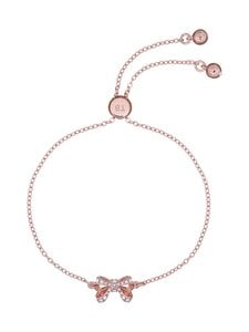 Ted Baker London - Carsaa Crystal Petite Bow Drawstring Bracelet -rannekoru - ROSE GOLD, CRYSTAL | Stockmann
