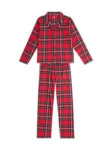 Tommy Hilfiger - LS PANT SET FLANNEL -pyjama - 0QK CHECK CLASH | Stockmann