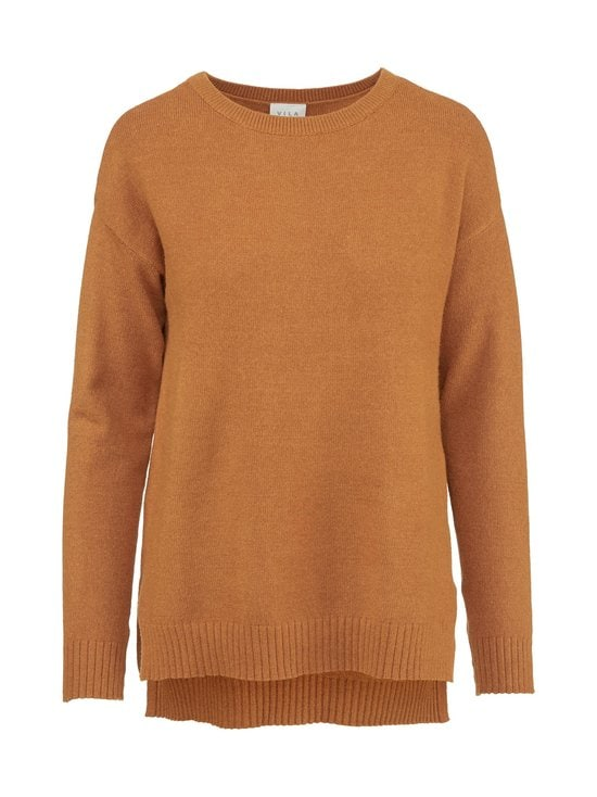 ViRil High Low L/S Knit Top -neule