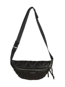 Karl Lagerfeld - K/Studio Zip Bumbag -nahkalaukku - A994 BLACK/NICKEL   Stockmann