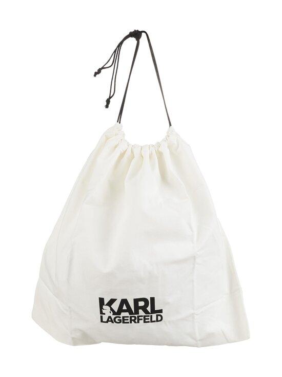 Karl Lagerfeld - K/Studio Zip Bumbag -nahkalaukku - A994 BLACK/NICKEL | Stockmann - photo 3