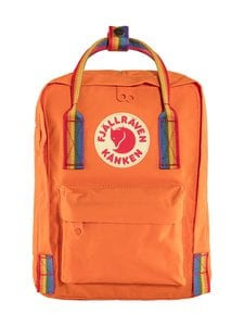 Fjällräven - Kånken Rainbow Mini -reppu - 212-907 BURNT ORANGE-RAINBOW PATTERN | Stockmann