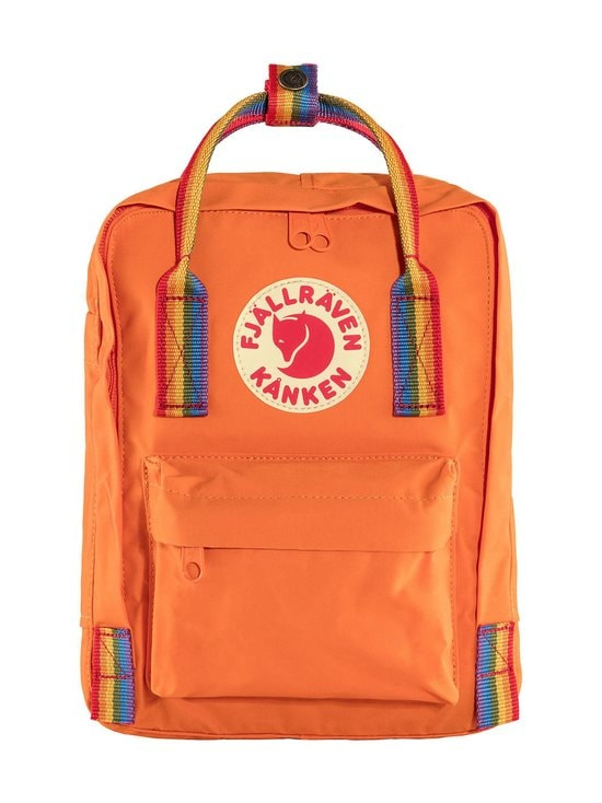 Fjällräven - Kånken Rainbow Mini -reppu - 212-907 BURNT ORANGE-RAINBOW PATTERN | Stockmann - photo 1
