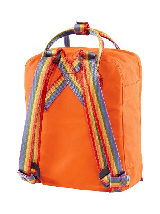 Fjällräven - Kånken Rainbow Mini -reppu - 212-907 BURNT ORANGE-RAINBOW PATTERN | Stockmann - photo 2