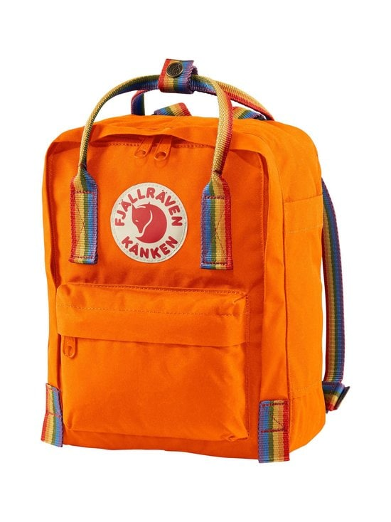 Fjällräven - Kånken Rainbow Mini -reppu - 212-907 BURNT ORANGE-RAINBOW PATTERN | Stockmann - photo 3