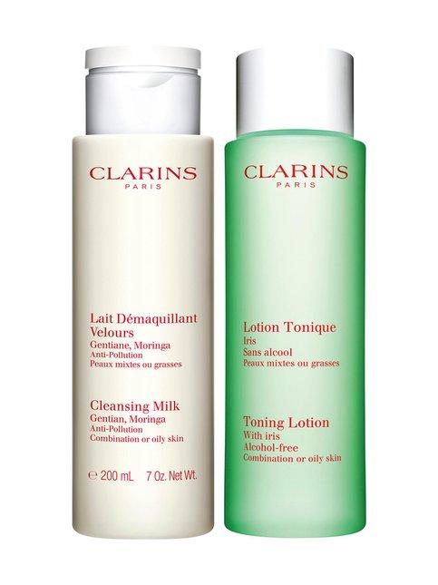 Cleansing Set -ihonhoitopakkaus rasvoittuvalle iholle ja sekaiholle 2 x 200 ml