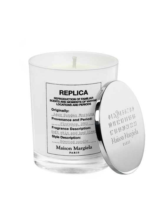 Maison Margiela - Replica Lazy Sunday Morning Candle -tuoksukynttilä 165 g - NOCOL | Stockmann - photo 1