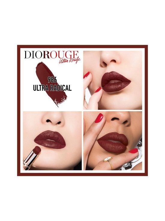 DIOR - Rouge Dior Ultra Rouge -huulipuna 3,2 g - 986 ULTRA RADICAL | Stockmann - photo 2