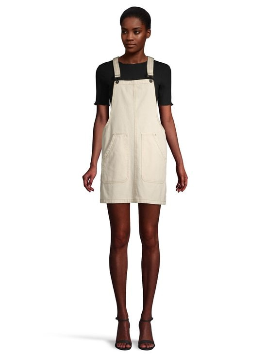 Noisy may - NmIsla Dungaree -farkkumekko - SEEDPEARL | Stockmann - photo 2