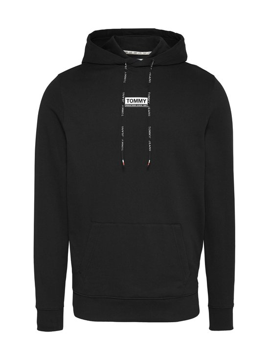 Tommy Jeans - Tjm Essential Graphic Hoodie -huppari - BDS BLACK | Stockmann - photo 1