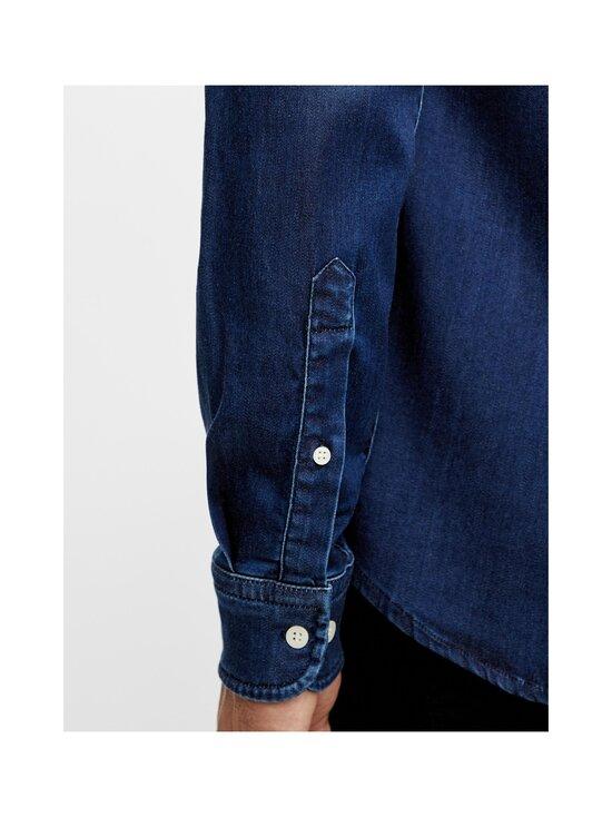 J.Lindeberg - Indigo Soft Stretch Slim Shirt -kauluspaita - 6194 MID BLUE | Stockmann - photo 7