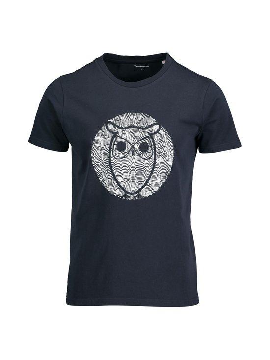 Knowledge Cotton Apparel - Alder Wave Owl -paita - 1001 TOTAL ECLIPSE | Stockmann - photo 1